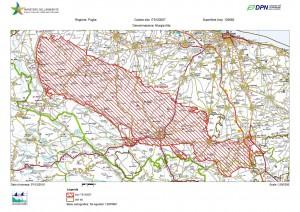 Mappa Sito SIC/ZPS Murgia Alta