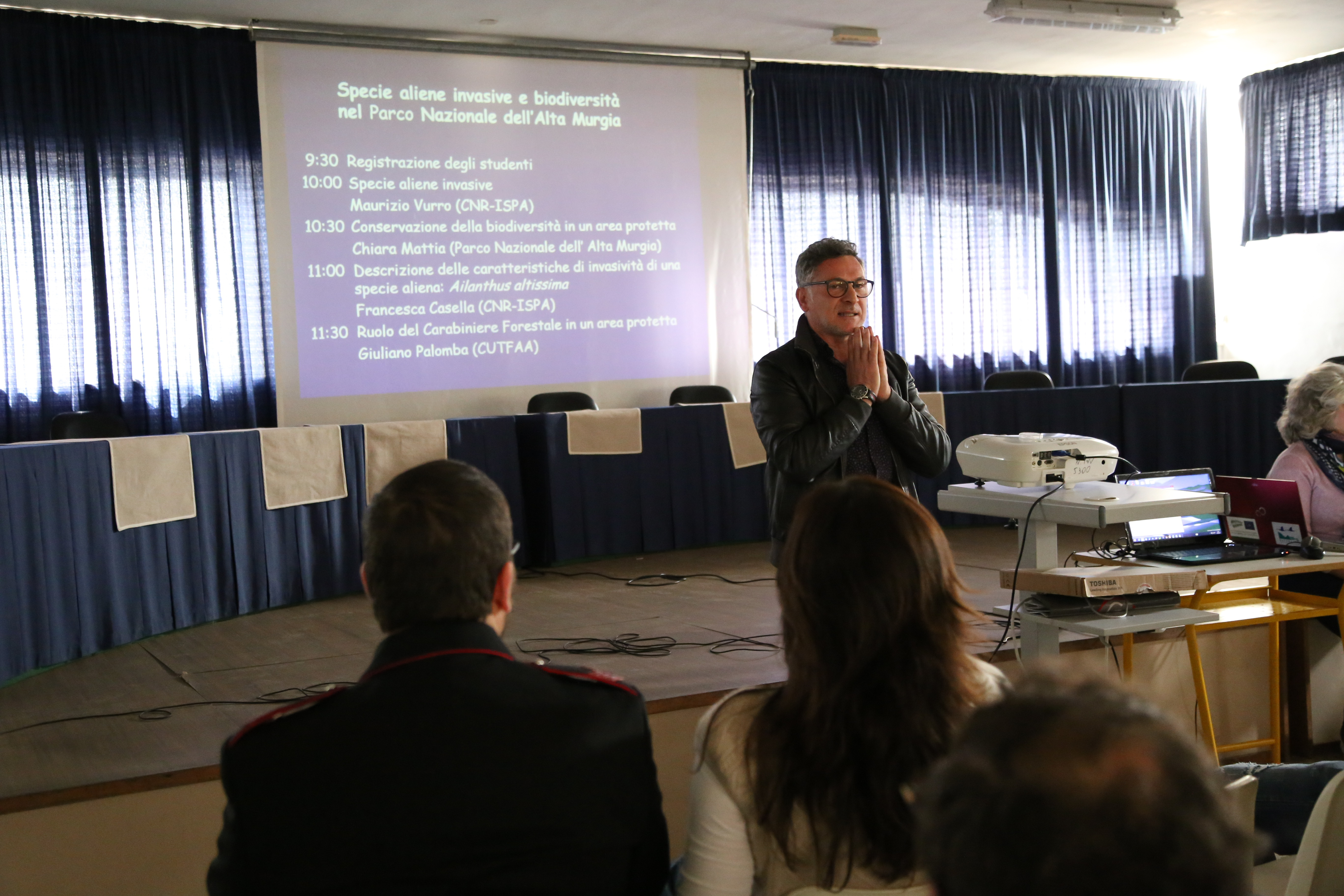 Meeting With The School Lotti Umberto I Andria Bat Life Alta